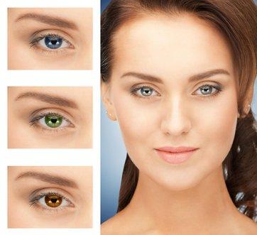 Barevné kontaktní čočky