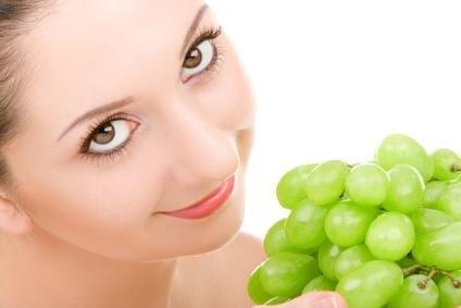 Ovoce a zelenina v kosmetice - hrozny