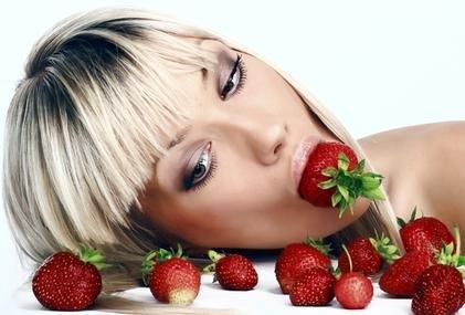 Ovoce a zelenina v kosmetice - jahoda