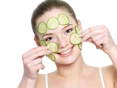 Ovoce a zelenina v kosmetice - okurka