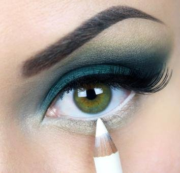 Líčení očí - linky