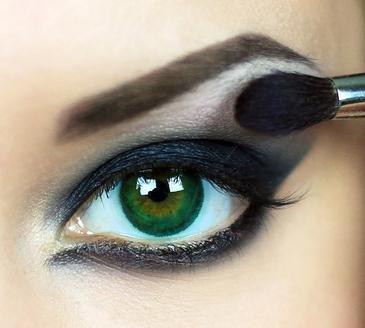 Líčení očí - stíny